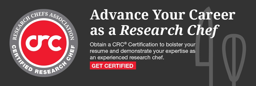 Learn more about becoming a Certified Research Chef