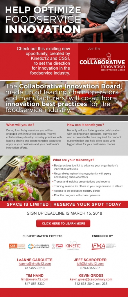 Collaborative Teaching Best Practices ~ Rca foodservice collaborative innovation best practice board